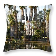 Queen Anne Cottage Throw Pillow