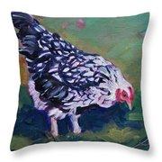 Queen Annes Lace        Hen Throw Pillow