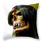 10007 Queen Astra Of Arkonia Throw Pillow