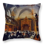Queen Caroline Trial, 1820 Throw Pillow
