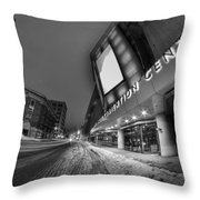Queen City Winter Wonderland After The Storm Series 0023a Throw Pillow