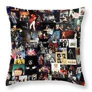 Queen Collage Throw Pillow