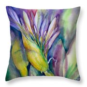 Queen Emma's Lily Blossom Throw Pillow