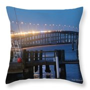 Queen Isabella Causeway Throw Pillow
