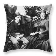 Queen Mary (1867-1953) Throw Pillow