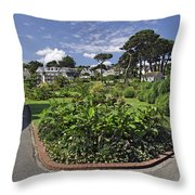 Queen Mary Gardens - Falmouth Throw Pillow