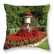 Queen Mary's Gardens Regents Park Throw Pillow