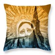 Queen Of Angels Throw Pillow