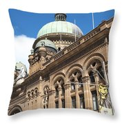 Queen Victoria Building Sydney Throw Pillow