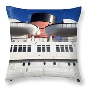 Queen's Life Boats Throw Pillow