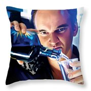 Quentin Tarantino Artwork 1 Throw Pillow