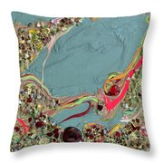 Quest For The Maharaja's Ruby Throw Pillow
