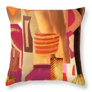 Questions Throw Pillow
