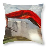 Qui Vive Throw Pillow