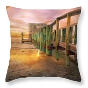 Quiet Colors Throw Pillow