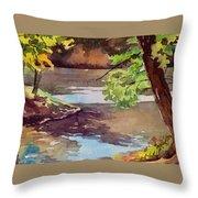 Quiet Cove Throw Pillow