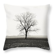 Quiet Desperation Throw Pillow