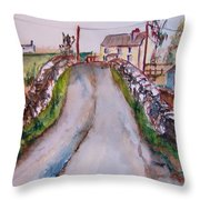 Quiet Man Bridge Throw Pillow