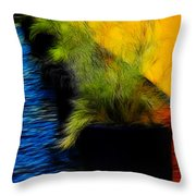 Quiet Meditation Throw Pillow
