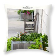 Quiet Resting Places Throw Pillow
