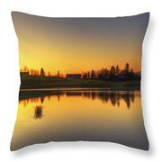 Quiet Sunrise.. Throw Pillow