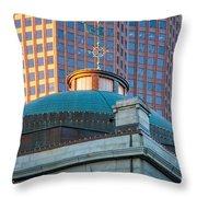 Quincy Market Dome Throw Pillow