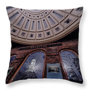 Quincy Market Throw Pillow