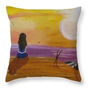 Quite Moments Throw Pillow