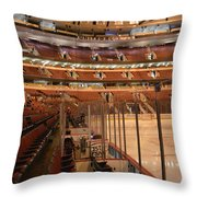 Quite Time Chicago United Center Before The Gates Open Vertical Throw Pillow