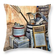 Quitting Time By Diana Sainz Throw Pillow