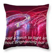 Quote By Ben Sweetland Throw Pillow