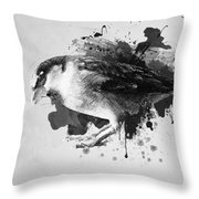 Qush Throw Pillow