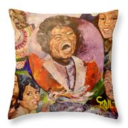 R B Legends Throw Pillow
