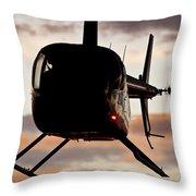 R44 At Sunset Throw Pillow