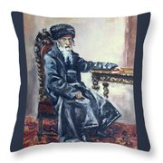 Rabbi Meisels Throw Pillow