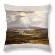 Raby Castle Throw Pillow