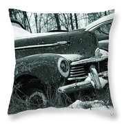 Race To The Grave Throw Pillow