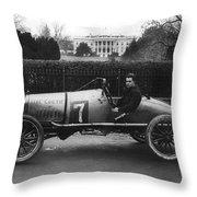 Racecar, 1922 Throw Pillow