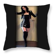 Racer Throw Pillow