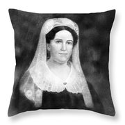 Rachel Donelson Jackson (1768-1828) Throw Pillow