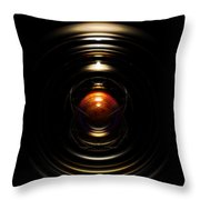 Radial Cage Throw Pillow