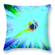 Radial Void Throw Pillow