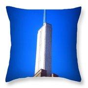 Radiant Design Throw Pillow