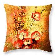 Radiant Faces Throw Pillow