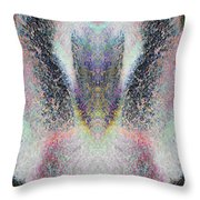 Radiant Seraphim Throw Pillow by Christopher Gaston