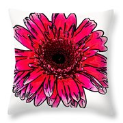 Radiant Sketch Throw Pillow