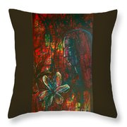 Radiating Light Throw Pillow