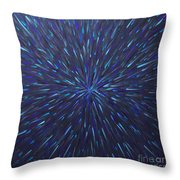 Radiation Grey  Throw Pillow