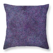 Radiation Violet  Throw Pillow