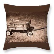 Radio Flyer Trav-ler Wagon Throw Pillow